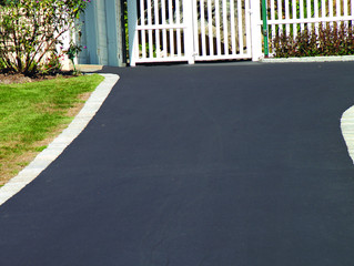 Various materials can be used to pave a driveway