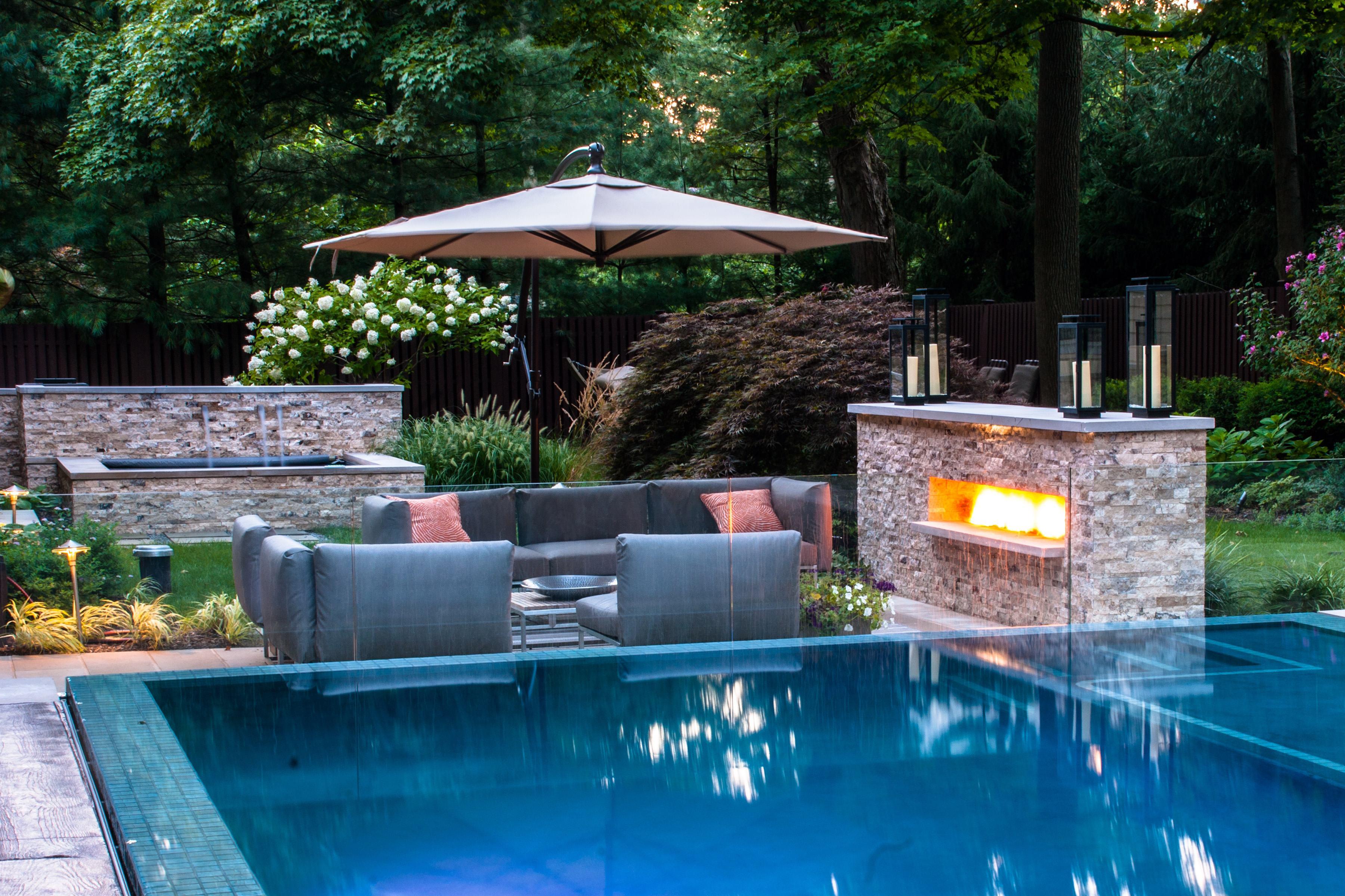 ideas for pool perimeter landscaping pressure dog pressure washing
