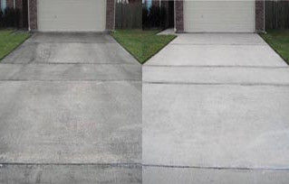 Professional Driveway and Sidewalk Cleaning