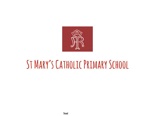 St Mary's Catholic Primary School