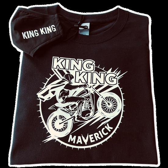 Bundle: Face Mask + King King Maverick T