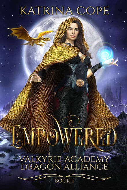 Empowered: Book 5 (Valkyrie Academy Dragon Alliance)