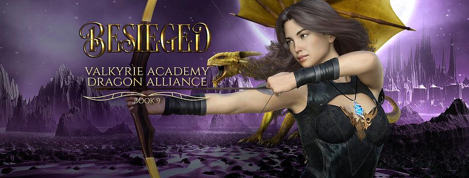 Besieged: Book 9 (Valkyrie Academy Dragon Alliance)