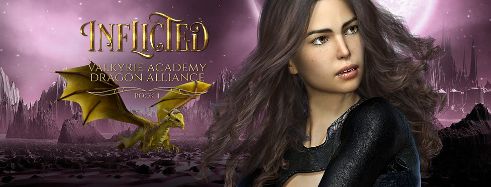 Inflicted: Book 4 (Valkyrie Academy Dragon Alliance)