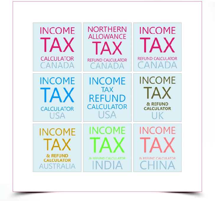 Income tax tools
