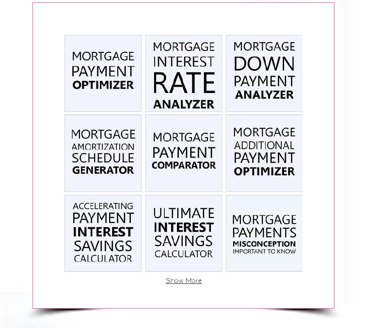 Mortgage management tools