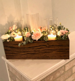 Box Centerpiece with Flowers