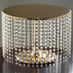 Gold & Crystal Cake Stand