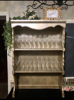 Champagne Shelf $25