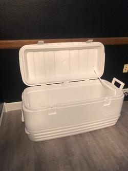 Large White Cooler