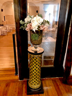 Flower Arrangement for Entryway to Balco