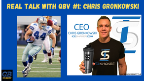 Real Talk with QBV #1: With Chris Gronkowski on his Playing Career, Entrepreneurship and Being a Dad