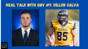 Real Talk with QBV#7 Former NFL Player and Personal Trainer Dillon Salva
