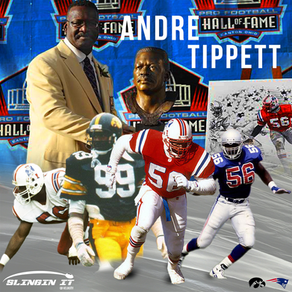 Slingin It with QB Velocity #10 Featuring Hall of Fame Patriot Linebacker Andre Tippett