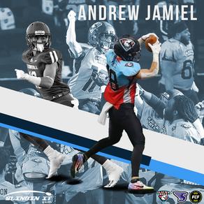 Slingin it with QB Velocity #3: FCF Wide Receiver Andrew Jamiel