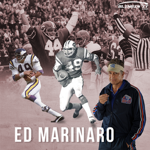 Slingin It with QB Velocity #9 with Former Cornell and NFL Running Back Ed Marinaro