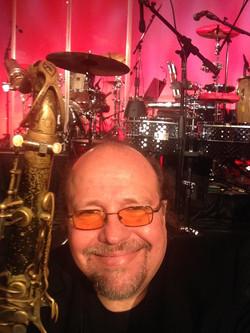 Smiling Sax Man
