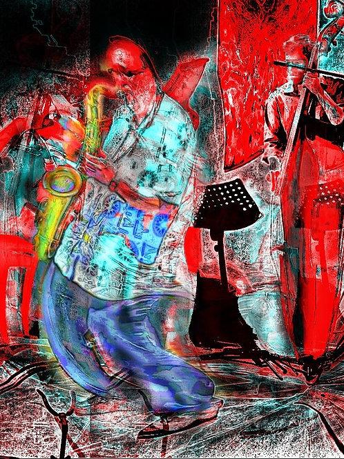 Iberia Suite for Saxophone Quartet by Ed Calle