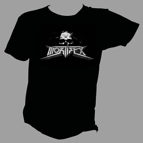 MORTIFEX T-Shirt - 3D logo - glow in the dark