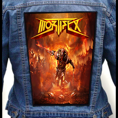 Mortifex Back Patch (Iron On)