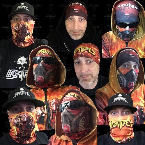 Mortifex/Kronic Music - Mask - Neck Gaiter - Tube Bandana