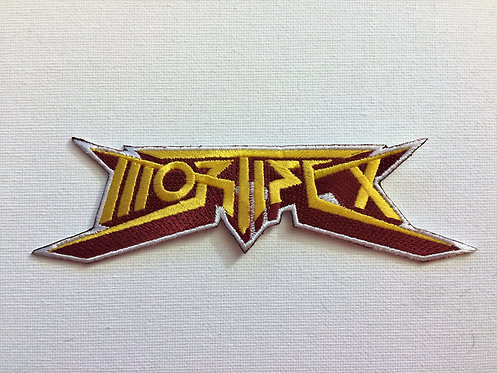 Mortifex Logo Embroidered Patch (Iron On)