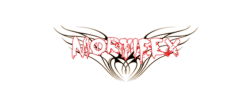 Mortifex 'Wings' Logo Die-Cut Sticker