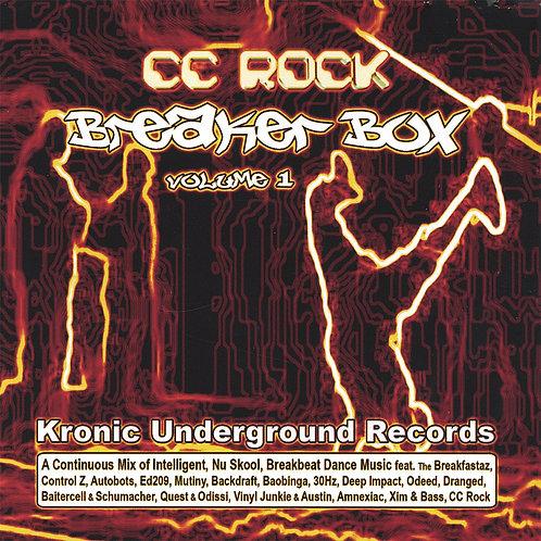"CC Rock ""Breaker Box - Volume 1"" (Physical CD)"