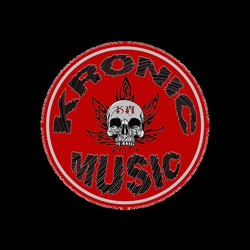Kronic Music 'Original' Logo Sticker (4 Inches Round)