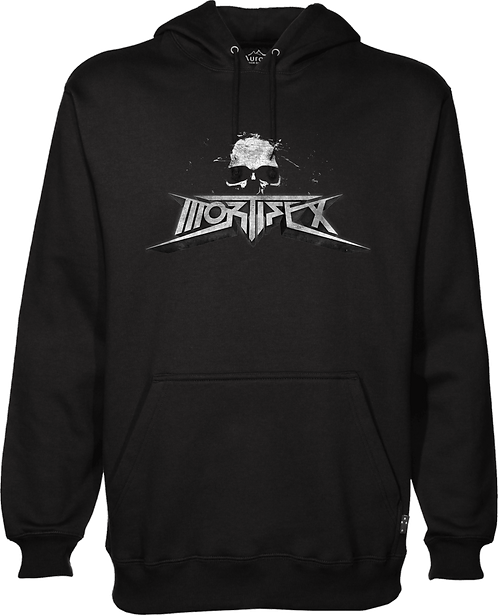 Mortifex Pullover GILDAN Hoodie - 3D Logo - glow in the dark