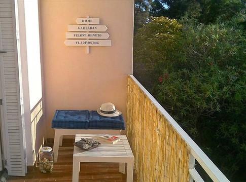 Aménagement balcon côté montagne