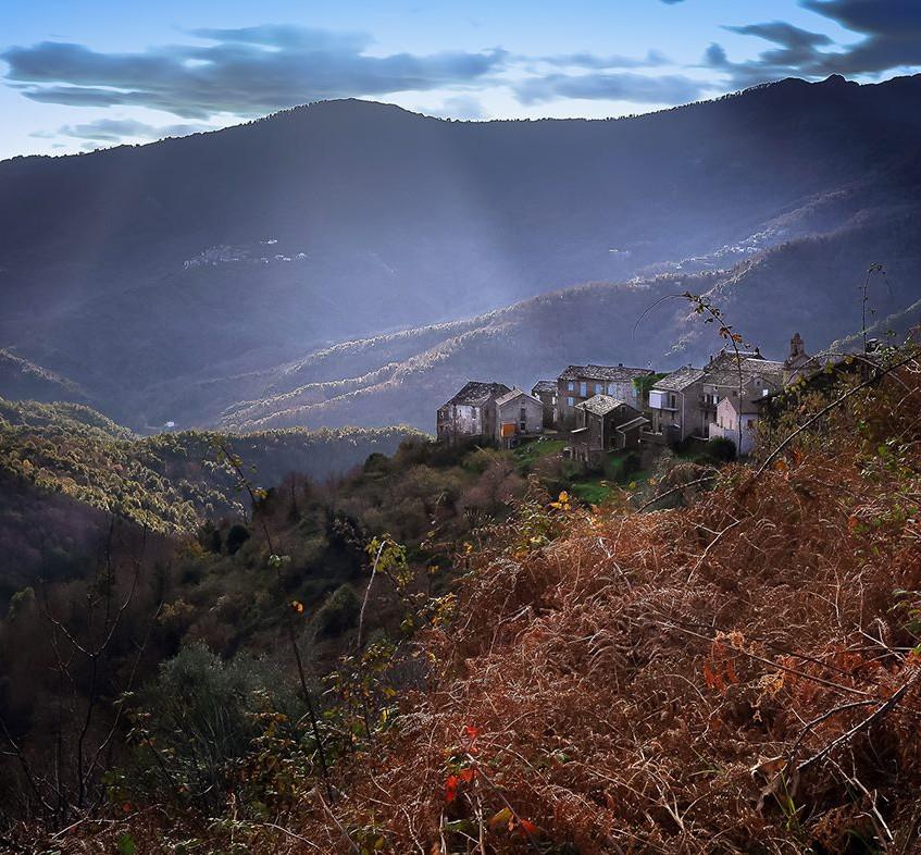 Village en Castagniccia