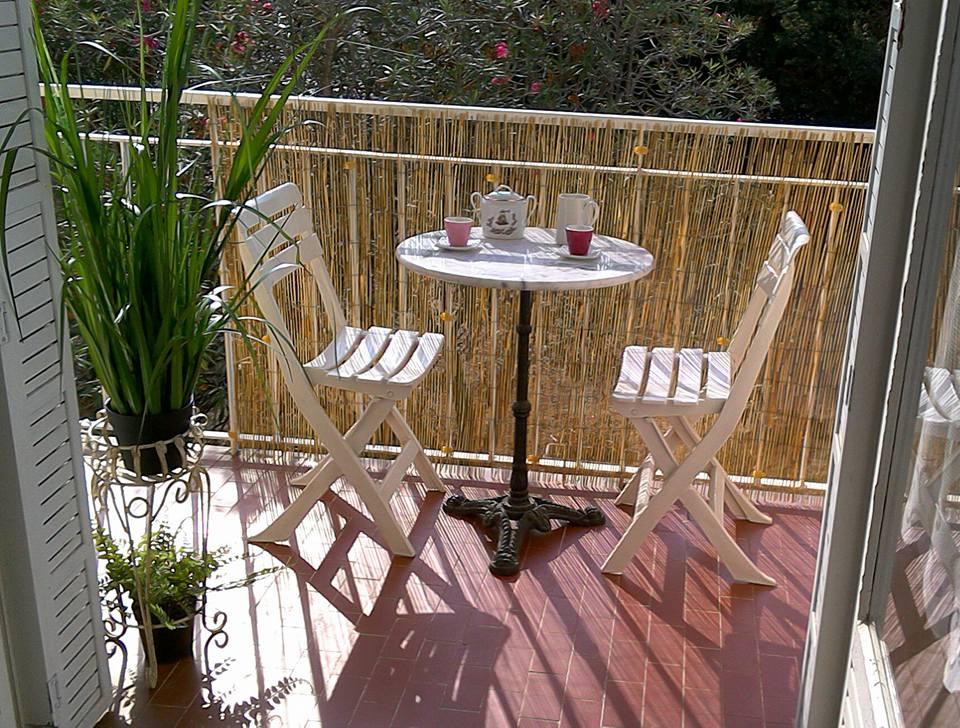 balcon ouest, pause café