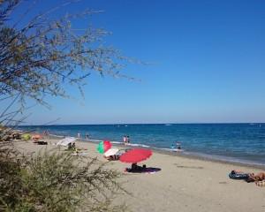 Santa Lucia plage, ombragée
