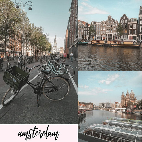 Preset para Lightroom - Amsterdam by Julia Orige