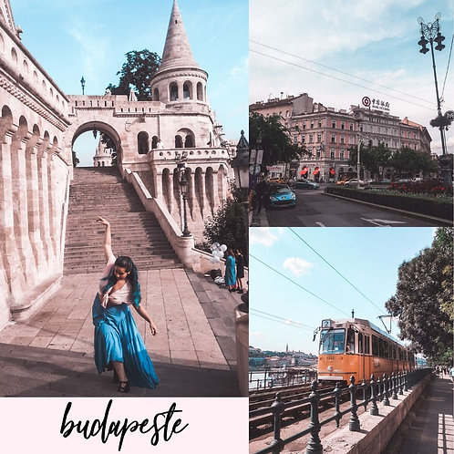 Preset para Lightroom - Budapeste by Julia Orige