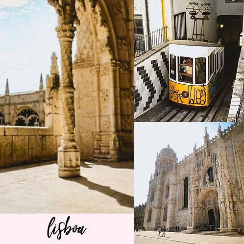 Preset para Lightroom - Lisboa by Julia Orige