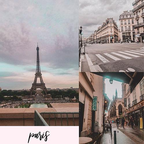 Preset para Lightroom - Paris by Julia Orige