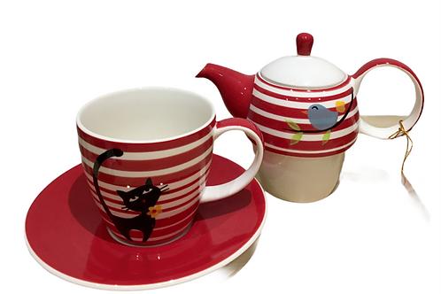 Set à thé pour 1 personne