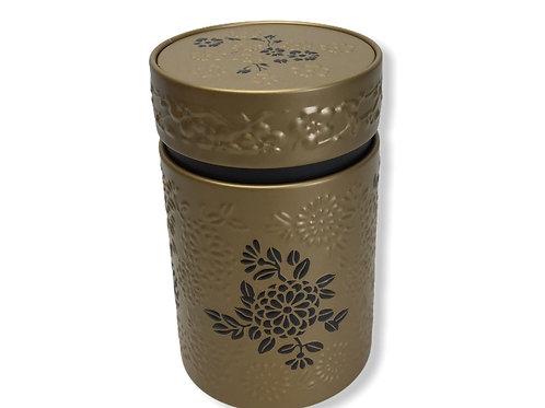 Boîte à thé or et noir - 110 g