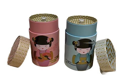 Boîte à thé geicha