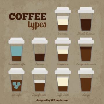 types cafe pouremporter