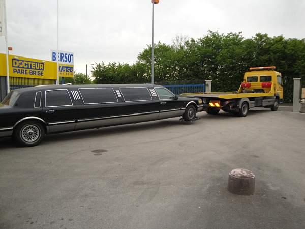 Besancon depannage limousine
