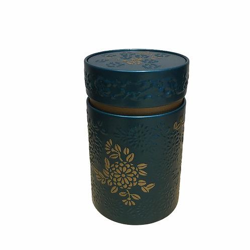 Boîte à thé bleu et or - 110 g