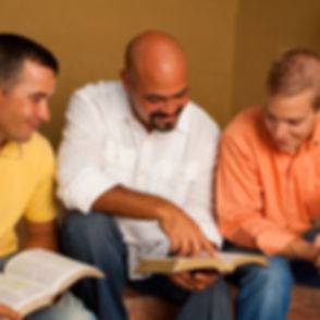 Mens small group.  Reading, Community gr