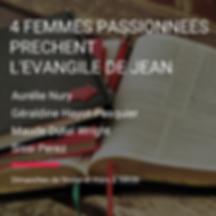 4 FEMMES PASSIONNEES PRECHE L'EVANGILE D