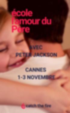 ECOLE L'AMOUR DU PERE AVEC PETER JACKSON