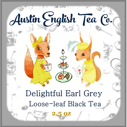 Delightful Earl Grey Loose Leaf Tea