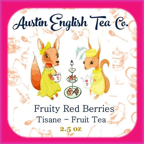 Fruity Red Berry Herbal Loose Leaf Tea