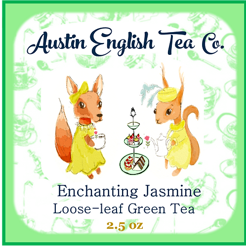 Enchanting Jasmine Green Loose Leaf Green Tea